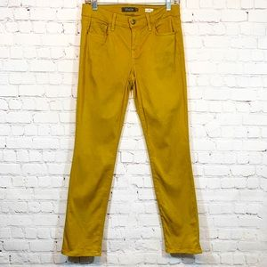 Level 99 Lily Skinny Straight Mustard Jeans